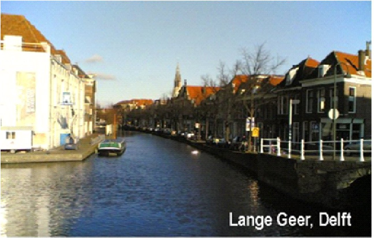 Photograph of Lange Geer in Delft